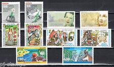 Europa CEPT Bulgarije 1995-1996-1997-1998-1999 cat waarde € 19,50