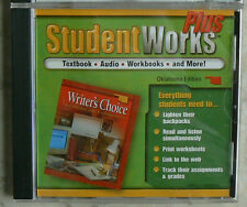 Glencoe WRITER'S CHOICE,StudentWorks Plus gr.7/7th CD-Rom NEW - S/S 0078658098