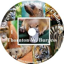 The Burgess Animal Book for Children, Audiobook by Thornton W. on 1 MP3 CD