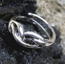 Wikingerring Knoten nach Original v. 1000 n.Chr Wikinger Silberring 925er  52-59