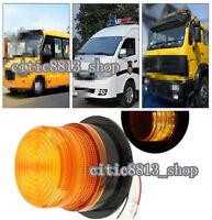 DC12V/60V Car Bus Beacon Strobe Emergency Warning Alarm LED Flash Light Amber CI