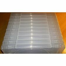 10 Official Sony PS3 PlayStation 3 Clear Replacement Game Cases OEM Very Good 5Z