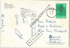 54407 - FOOTBALL - TURKEY -  POSTAL HISTORY:  POSTCARD with SPORT stamp 1977