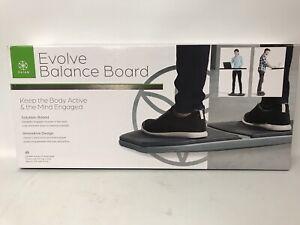 Gaiam Evolve Balance Board-Gray-Brand New