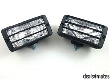 E-marked 2x 12v 4x4 Offroad Bol Bar Techo Niebla Spot Luz Luces Lámpara