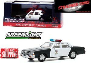 GREENLIGHT #86582 1:43 1987 Chevrolet Caprice Police  Terminator 2 Judgement day