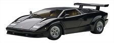 1/18 Autoart Lamborghini Countach 25Th Anniversary Black 74539 Japan NEW