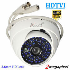 HD-TVI 1080p 2MP CCTV 3.6mm Wide-angle HD-Lens 48IR LED Vandal Dome CAMERA DVR