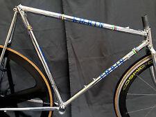 """UNIQUE Rare Vintage emrin FULL CHROME steel frame set Fork for 650/26"""" TT"""