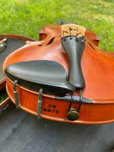 Vintage 4/4 Violin Marked 2N With Case And Bow