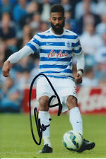QPR HAND SIGNED ARMAND TRAORE 6X4 PHOTO.