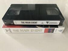 THE MAIN EVENT- John Farnham, Olivia Newton John, Anthony Warlow video/vhs