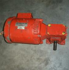 Emerson 1750Rpm Electric Motor With Reducer F001, Uniline 2000