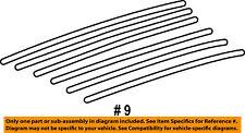Jeep CHRYSLER OEM Liberty Roof Rack Rail Luggage Carrier-Skid Strip 55135987AC