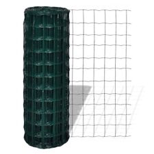 # Steel Wire Mesh Roll Fence 1x25m PVC Coated Garden Pet Poultry Fencing 100x100