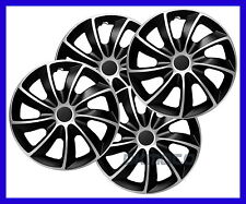 "15"" WHEEL TRIMS COVERS HUB CAPS fits  Fiat Fiorino Van 2008 - on 4 x15 ''"