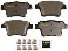 Disc Brake Pad Set-Total Solution Semi-Metallic Brake Pads Rear Monroe DX1071