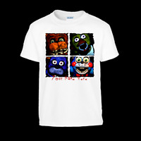 Five Nights at Freddys Comicbook Style Personalised T-Shirt FNAF Top Trends