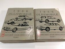 Oldsmobile car truck repair manuals literature ebay free shipping make oldsmobile 1986 oldsmobile chassis service manual cutlass ciera firenza delta 2 volumes fandeluxe Gallery