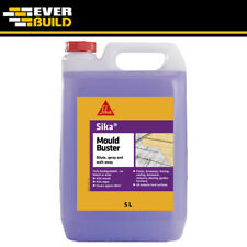 Sika Mould Buster Algae Mould Green Growth Remover Concentrate Purple 5Ltrs