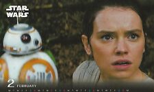 Star Wars Episode 7 The Force Awakens 2016 Desk Calender Japan Limited NIB BB8