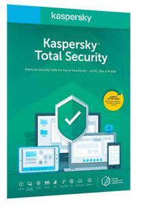 Kaspersky Total Security Suite 2022 |1YR| Suite |5 PC| Global