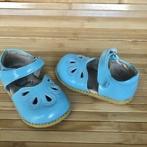 Livie & Luca PETALS Baby Blue Mary Janes Shoes Girl Size 6 Match Matilda Jane
