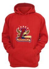 Veracruz Baseball Sweater Hoodie for Men Color Red