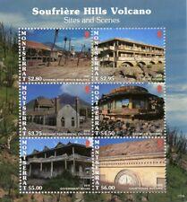 More details for montserrat tourism stamps 2017 mnh soufriere hills volcano volcanoes 6v m/s ii