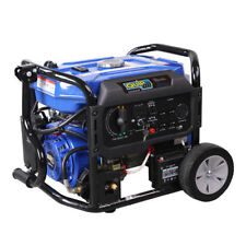 Quipall 5,250 Watt Dual Fuel Gas Portable Generator w/ Electric Start, New
