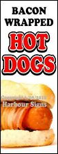 Hot Dogs DECAL (Choose Your Size) Bacon Concession Food Truck Vinyl Sticker