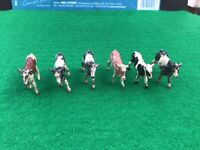 Vintage Britains Era Lead Farm. 6 X Calves. 1/32 Scale.