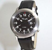 Kienzle Automatik Herrenarmbanduhr mit schwarzem Armband