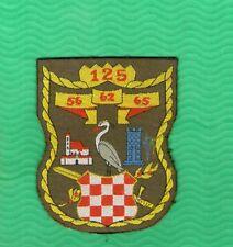 CROATIA ARMY MILITARY PATCH 125  56 62  AND 65 BRIGADA NOVSKA KUTINA RRR  RARE