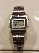 SCARCE VINTAGE MENS SEIKO A257-5010 DIGITAL ALARM CHRONOGRAPH WATCH ALL ORIGINAL