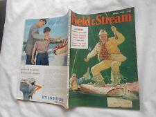 FIELD & STREAM Magazine-APRIL,1958-SPINNING