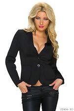 Taillenlange Einreihige Damen-Anzüge & -Kombinationen mit Jacket/Blazer