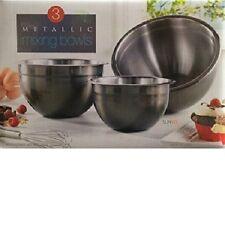 Unbranded Stainless Steel Dishwasher Safe Serving Bowls