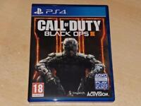 Call of Duty Black Ops III 3 PS4 Playstation 4 **FREE UK POSTAGE**