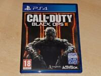 CALL OF DUTY BLACK OPS III PS4 PlayStation 4