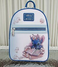 Disney Loungefly Lilo and Stitch reading to Ducklings Mini Backpack NWT