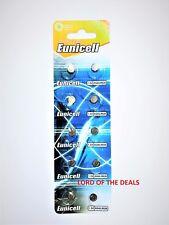 10 X Eunicell AG4 SR626SW G4A LR626 LR66 L626 177 377 A 1.5 V Batería de Reloj de moneda.