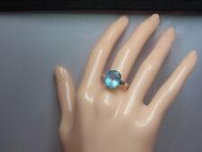 925er Silberring mit Topas Ringgroße 55,5 Steingroße 1,21x1cm Gewicht 4 gramm