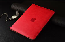 Luxury Leather Tablet Folio Case Cover For iPad Pro 2/3/4/Air/mini with Pen
