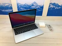 """Apple MacBook Air Touch ID 2018 13"""" Laptop 128GB 1.6GHz 8GB RAM Silver 3 cycles"""