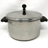 Vintage FARBERWARE 6 Qt 18/10 Stainless Steel Stock Pot