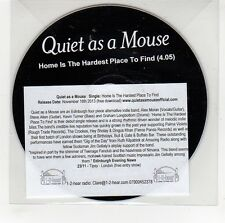 (GG653) Quiet As A Mouse, Home Is The Hardest Place To Find - 2013 DJ CD
