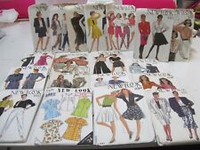 Bulk Lot #4 40 Sewing Patterns, Style, New Look, Some Vintage, Sizes Vary