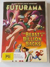 Futurama: The Beast with a Billion Backs DVD, 2008 (#DVD01389)