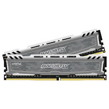 Crucial 8GB Kit 4GBx2 DDR4 PC4-19200 DIMM 288-pin Memory Ram BLS2K4G4D240FSB